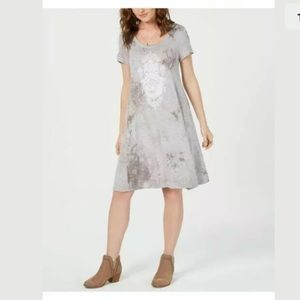 NWOT, Style & Co, short sleeve casual Dress. XL